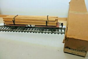 Märklin Scale 0 Long Wood Wagon 1961 G Erstklassig IN Original Packaging