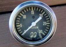 Vintage Moon Eyes Vacuum Gauge 0-30 Mooneyes US Gauge Real Deal 50's-60's SWEET!