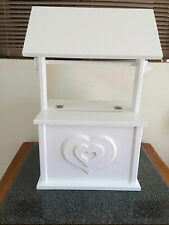 WEDDING WISHING WELL HANDCRAFTED MADE TO ORDER POSTAGE AVAILABLE ON REQUEST