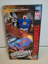 Transformers  War For Cybertron Kingdom Deluxe Autobot Tracks