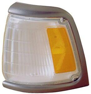 For 89-91 Toyota Truck Corner Turn Signal Park Light Lamp w/Gray Trim Left Side