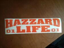 Dukes of Hazzard General Lee 01 Hazzrd Life Vinyl Back Glass Decal Sticker