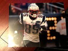 New England Patriots Chad Johnson Autographed Signed 11x14 Photo COA #2