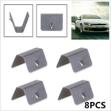 8PCS Wind / Rain Deflector Channel Metal Retaining Clips For Heko G3 SNED Clip