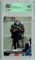 Bernie Sanders 2021 Topps Now #21 Mittens Inauguration Special Edition Card PGI