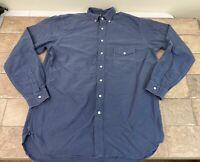 Ralph Lauren Mens Big&Tall Long Sleeve Button Down Shirt Mens Large Tall