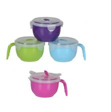 Varios Colores 800 ml resistente Al Microondas Sopa Taza de Viaje Camping té café bebida caliente