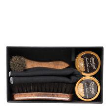 Set per Pulizia Scarpe in Pelle Confezione Regalo - Prestige Box Lucidi e Spazzo