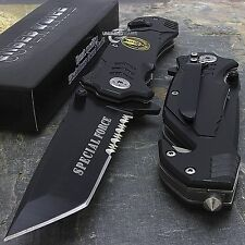 "8"" SPECIAL FORCES TACTICAL SPRING ASSISTED FOLDING POCKET KNIFE Blade Assist"