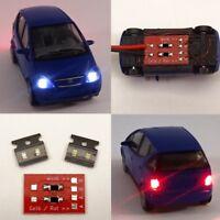 Beleuchtungsset Weiß/Rot 5-teilig Bausatz mit Anschluss-Modul Spur H0/TT C3612