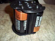 D Cell Battery Pack Holds 4 D 1.5V Batteries 6 Volt Total