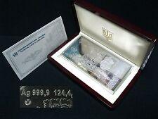 SILVER banknote UKRAINE 1 HRYVNIA 2003 Ukrainian Ag 999.9 124.4 grams Certificat