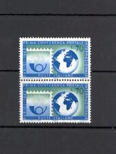 Italy, Paris Postal Conference 1963, SG 1096, block of 2, MNH lovely condition