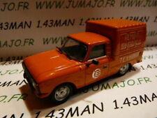 Voiture 1/43 IXO déagostini série RUSSE Service : IZH 2715 fourgonette livraison