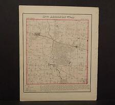 Illinois Du Page County Map Addison Township  1874 K13#72