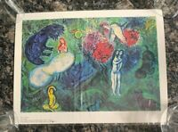 Marc Chagall Le Paradis The Paradise 1961 Museum Art Print 1982 By ADAGP