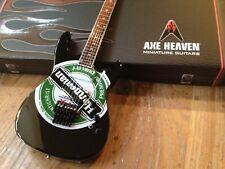 Mini Guitar Slayer Collectible Jeff Hanneman Heineken Guitar Replica