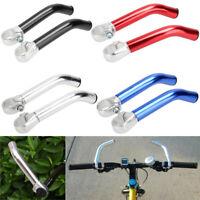 1Pair 22.2mm Bike Bicycle Alloy Aluminum Handlebar Handle Bar End Mountain Bike'