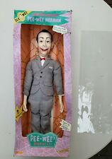 "Pee Wee Herman's Playhouse 1989 26"" Ventriloquist Doll From Matchbox Nib"