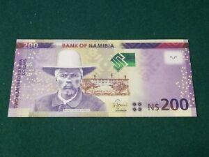 NAMIBIA 200 DOLLARS 2012 UNC