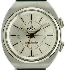 Doxa by sincrono conquistador Allarme Sveglia Uomo vintageuhr 70'er anni 34270