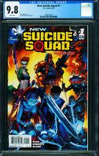 NEW SUICIDE SQUAD #1 CGC 9.8 2014-HARLEY QUINN-1998195010