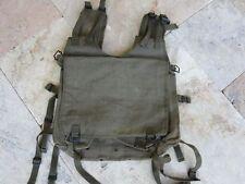 Original enérgicos Bag 1946-54 Indochina algerie legión Carrier canvas Vest