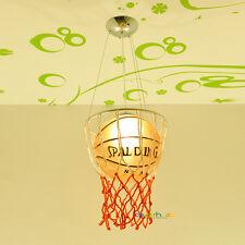 Basketball Pendant Lamp Chandelier Kid's Bedroom Lighting Ceiling Light Gift