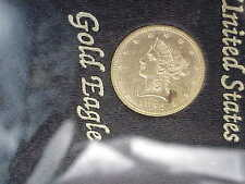1892-P $10 Us Liberty Gold Eagle Coin Uncirculated Swiss Bank Hoard