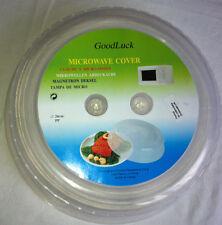 NUOVO FORNO A MICROONDE IN PLASTICA CIBO piatto Piastra Copertura 26 cm Cucina Coperchio una cucina sicura
