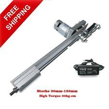 Linear Actuator Stroke Motor Reciprocating Motion High Torque 20kg 150mm Power