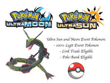 Pokemon Ultra Sun and Moon Galileo Shiny Rayquaza Event Pokemon