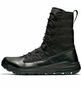 "Men's Nike SFB Gen 2 8"" Triple Black Boots -Size 13 -922474 001 -NEW-"