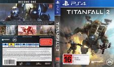 Titanfall 2 Replacement Box Art Case Insert Inlay Cover Scan Cover Only, no game