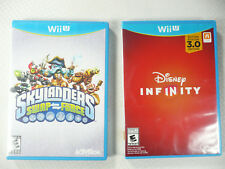 Nintendo Wii U GAME DISCS Disney Infinity 3.0 & Skylanders Swap Force