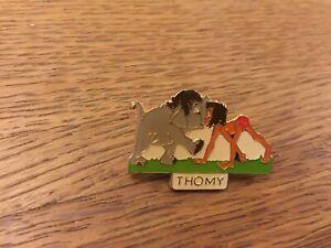 DISNEY JUNGLE BOOK PIN BABY ELEPHANT & MOWGLI NOSE TO NOSE - THOMY