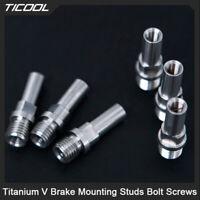 TICOOL Titanium V Brake Mounting Studs Bolt Screws Cantilever brake GR5 Ti 10mm