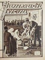L'Illustrazione Fascista N.2 Omaggio letizia e fede ai Principi di Piemonte 1930