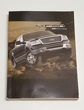 2007 FORD F-150 OWNERS MANUAL USER GUIDE REGULAR CAB EXTENDED CAB CREW CAB 2WD