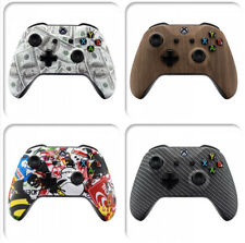 For Xbox One X One S Controller Front Housing Shell Repair Cover Soft Touch Grip