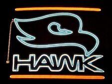 TONY HAWK Neon Letters SKATEBOARDING S/S Black Cotton T Shirt Size L