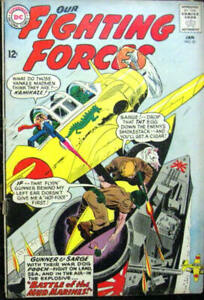 OUR FIGHTING FORCES# 81 Jan 1964 Gunner and Sarge Grandenetti Cover/Art: 6.0 FN