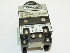 Agastat 7022AF Time Delay Relay 1 to 10 Sec 120v Used