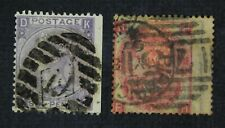 CKStamps: Great Britain Stamps Collection Scott#44 45 Victoria Used