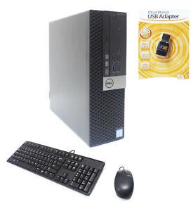 Dell Optiplex 3040 SFF PC 4-Core i5-6500 3.20GHz 12GB Ram 512GB SSD HDMI WIFI