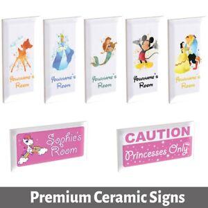PERSONALISED Custom Bespoke Boys Girls Kids Childrens Room Door Sign Plaque C...