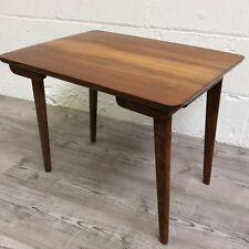 Danish Folding Teak Coffee Table Side Table Vintage Retro