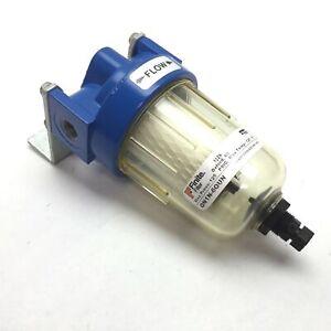 """Parker Finite QN1N-6QUN Coalescing Filter, Ports: 1/4"""" NPT, Max Pressure: 125psi"""