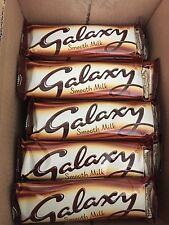GALAXY SMOOTH MILK CHOCOLATE BARS 42g x 24 In A Box Long  Date BARGAIN..