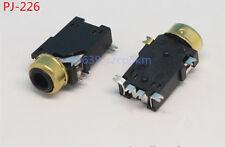 20Pcs 2.5mm Female Audio Connector 6 Pin SMT SMD Stereo Headphone Jack PJ-226